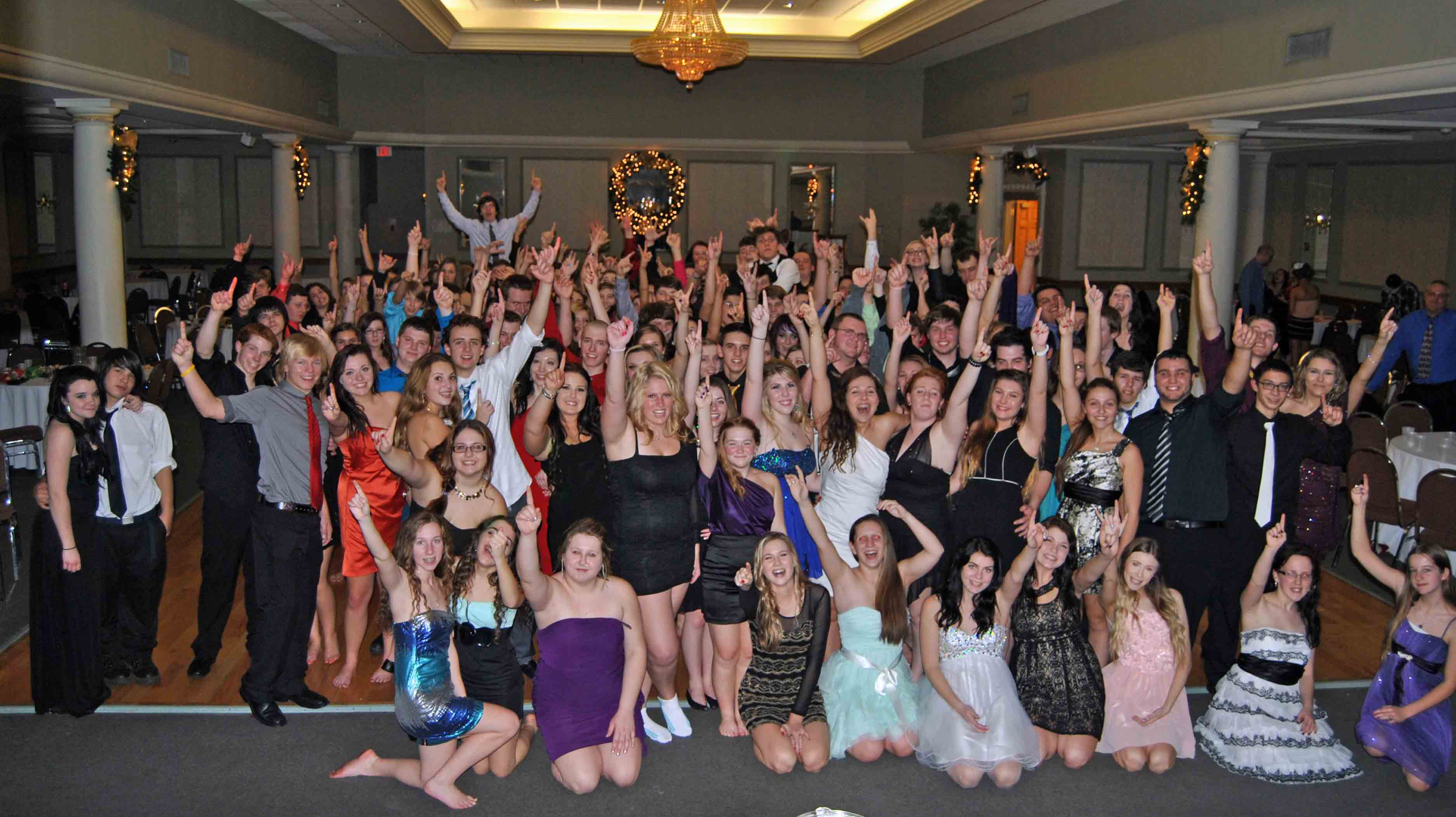 pchs students rocked the night away at formal