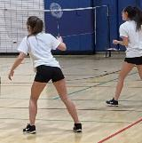 badminton girls doubles
