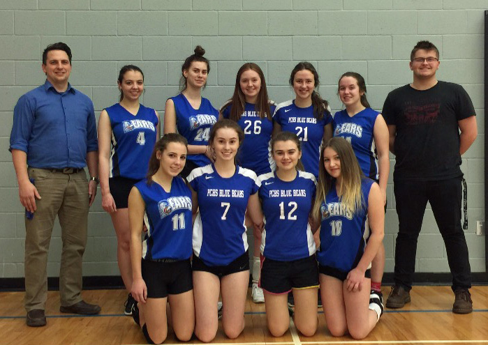 sr girls v ball