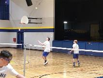 badminton double boys