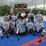 boys ball hockey