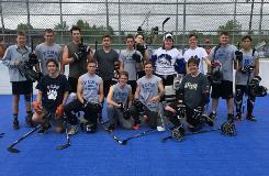 sr boys ball hockey