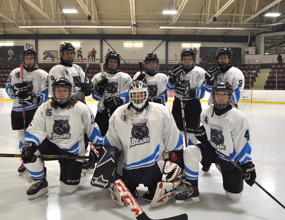 girls hockey team