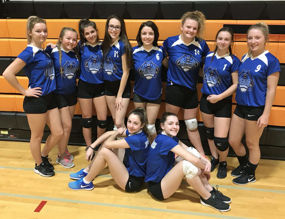 jr girls v ball