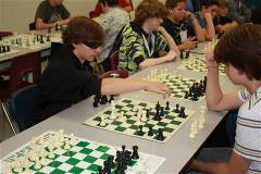 Sam Meleg captured Gold at the intermediate level of the Chess Tournament held at E. L. Crossley in September.